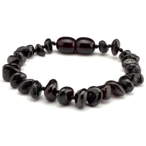 teething-bracelet black armbandje