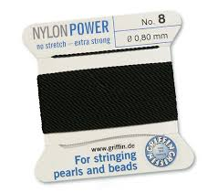 nylon power black rijgaren