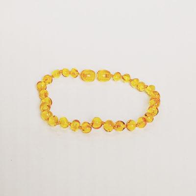 armband volwassen sluiting slank honing glans amber