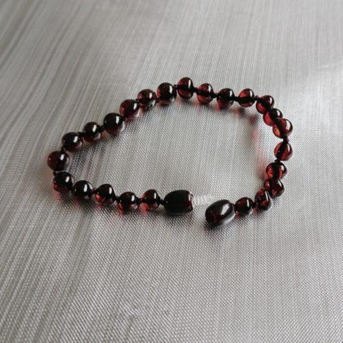 volwassen armband cherry glans draaisluiting