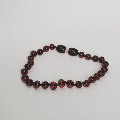 armband volwassen sluiting slank cherry glans