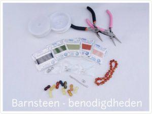 Barnsteen benodigdheden draknop Barnsteen benodigdheden draad en sluitingen en sluitingen